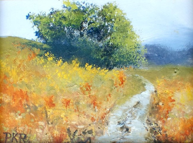 """""""Pasture"""" acrylics by Pete Roberts"""