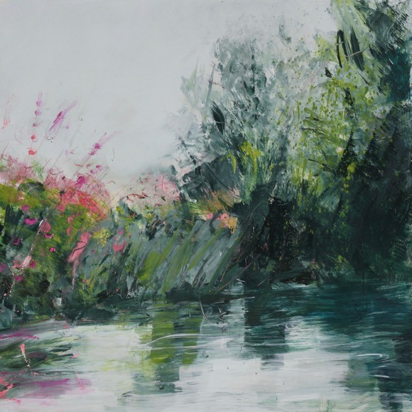"""""""August on the Ouse"""" Oil painting by Susie Monnington"""