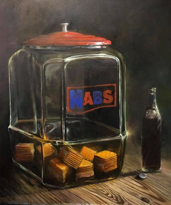 """Vessels: Memories You Can Taste"" oil painting by Vicky McLain"